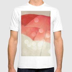 Whisked Away MEDIUM White Mens Fitted Tee
