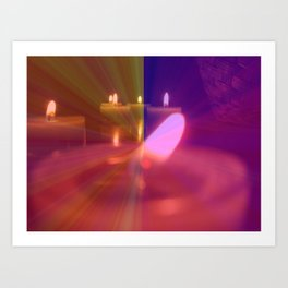 Old Flame Can't Hold A Candle To You Art Print