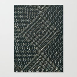 Black Assuit Canvas Print