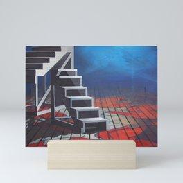 MEDIUM BLUE Mini Art Print