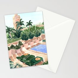 Moroccan Hotel Stationery Cards
