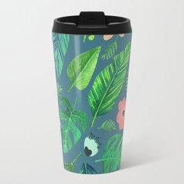 Tropical Life | #society6 #decor #buyart #pattern Travel Mug