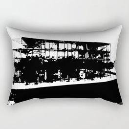 Monospective Rectangular Pillow
