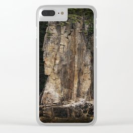 Indian Head Rock - Prince Rupert, BC Clear iPhone Case
