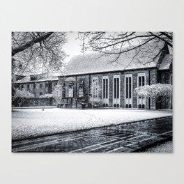 Snowy Quad Canvas Print