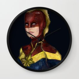 Captiain Brie Wall Clock