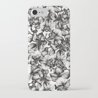 orchid iPhone & iPod Cases featuring orchid by GYYO