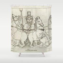 Kupferstich (1795) Shower Curtain
