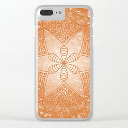 The Sacral Chakra Clear iPhone Case