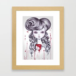 dea Framed Art Print
