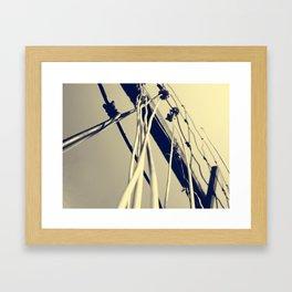 Towers 2 Framed Art Print