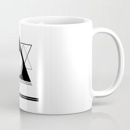Uneven Geometry Coffee Mug