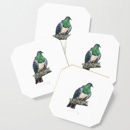 New Zealand Wood Pigeon Coaster