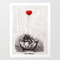 Ad Mortem Art Print
