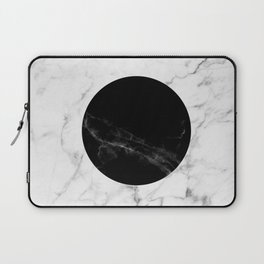 Marble Dot Collage Laptop Sleeve