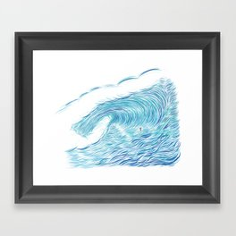 INFINITE ENDLESS TUBE Framed Art Print