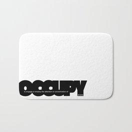 occupy Bath Mat