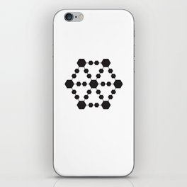 Jugglers Metatron Black iPhone Skin