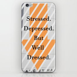 But well dressed iPhone Skin