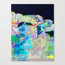 bonnie_clayde Canvas Print
