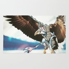 Birds In Armor 9 Rug