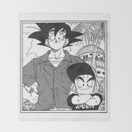 DBZ - Manga 8 Throw Blanket