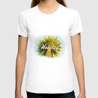 holiday T-shirts featuring Holiday by husavendaczek
