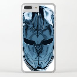 Iron Brain | Made In Utero Clear iPhone Case