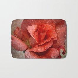 CORAL ROSE Bath Mat
