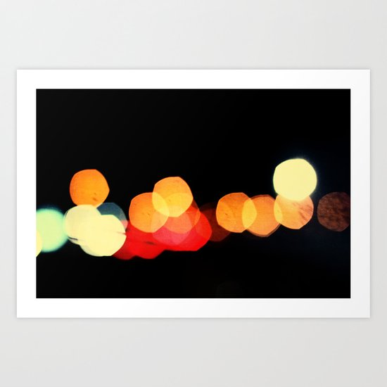 night travelers Art Print