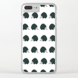Oh the places... Clear iPhone Case