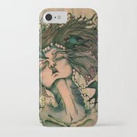 siren iPhone & iPod Cases featuring Siren by JenniferLove