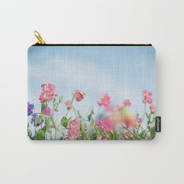 Sweet Pea Garden Carry-All Pouch