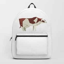 Origami Cow Backpack