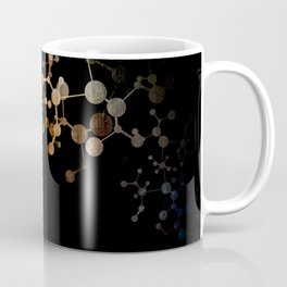 Metallic Molecule Coffee Mug