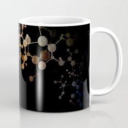 Metallic Molecule Coffee Mug