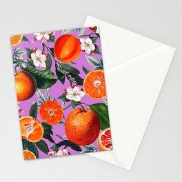 Vintage Fruit Pattern X Stationery Cards