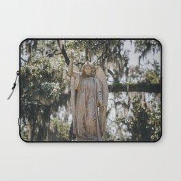 Bonaventure Cemetery Angel Laptop Sleeve