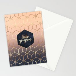 Hello Gorgeous Stationery Cards