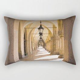 Archway into Hallway #decor #society6 #buyart Rectangular Pillow