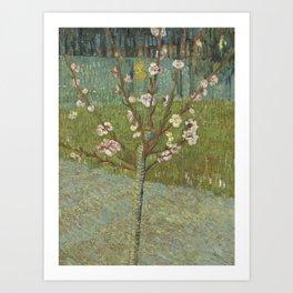 "Vincent van Gogh ""Peach Tree in Blossom"" Art Print"