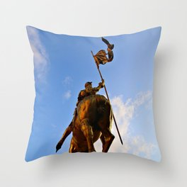 To One's Glory Throw Pillow