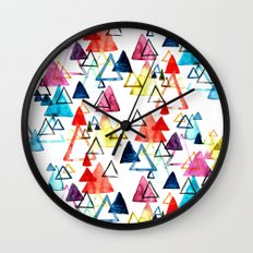 Triangle Party Wall Clock