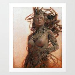 Gynoid IV Art Print
