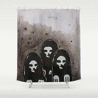 coven Shower Curtains featuring Coven by slakjawdyokel