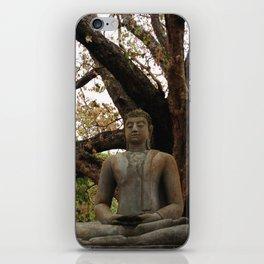 Buddha Statue at Abhayagiri Stupa 2 iPhone Skin
