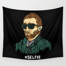 Van Gogh: Master of the #Selfie Wall Tapestry