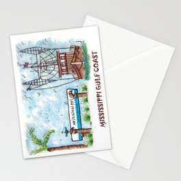 Mississippi Gulf Coast Stationery Cards