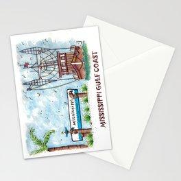 Mississippi Gulf Coast Stationery Cards