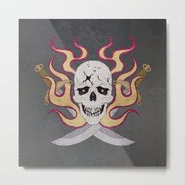 Paul Phoenix Metal Print